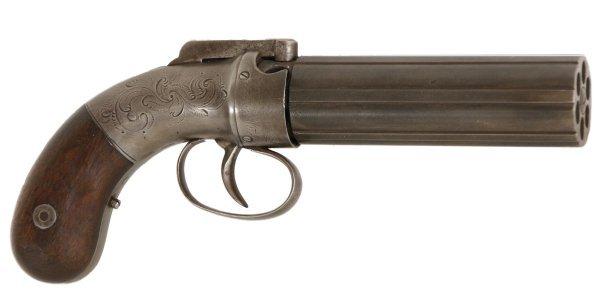 15: Allen & Thurber Pepperbox Revolver