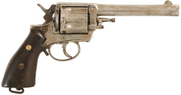 126: Belgian Frontier Army 6 Shot Revolver
