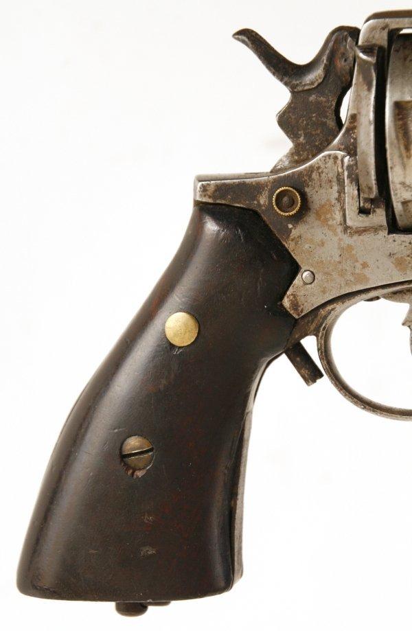 126: Belgian Frontier Army 6 Shot Revolver - 6