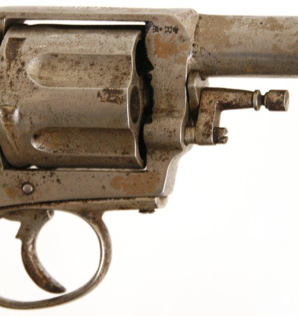 126: Belgian Frontier Army 6 Shot Revolver - 7