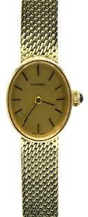Tourneau 14 Karat Gold Wristwatch