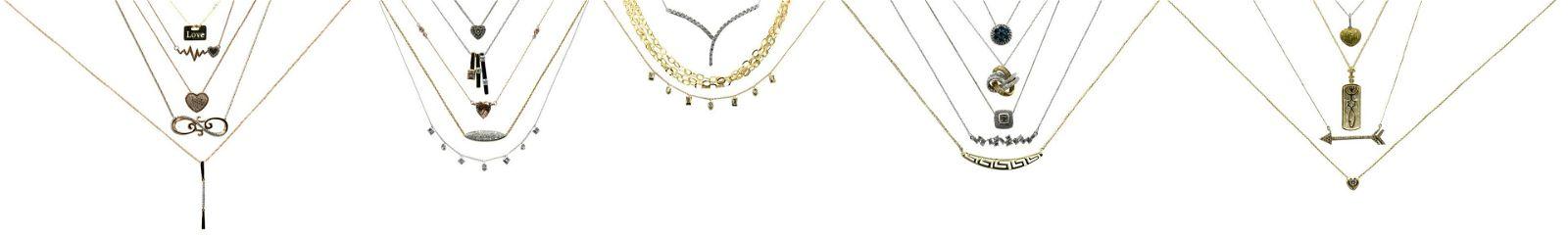 Group of 10 Karat Gold Necklaces