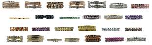Group of 10K Gold Ring Bands