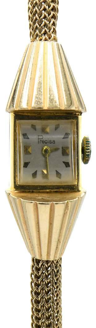 Precisa 14 Karat Gold Wristwatch