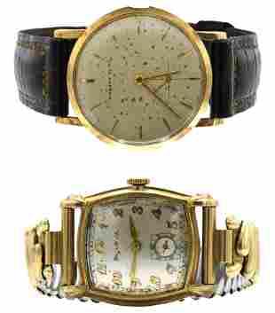 One Bulova & One Tiffany Watch
