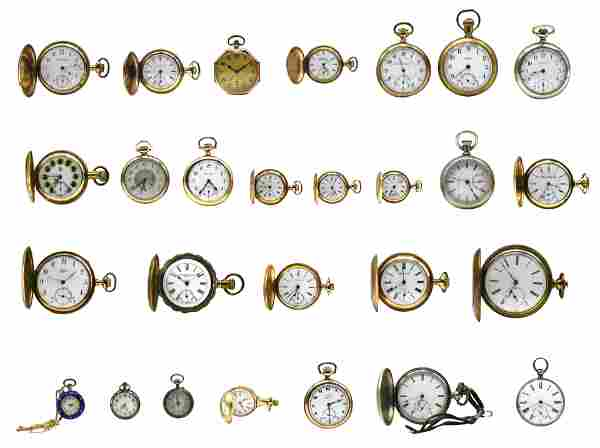 Group of Miscellaneous Pocket Watches