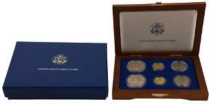 1986 United States Liberty Six-Coin Set