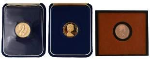 Lot of Three Queen Elizabeth II Gold Coins
