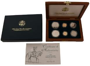 1995 Civil War Battlefield Commemorative Coins