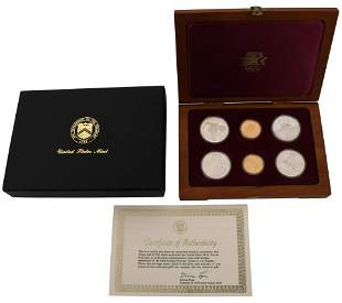 United States Olympic Six-Coin Set