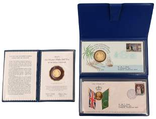 Lot of Three Commemorative Gold Coins