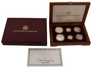 1992 United States Olympic Six-Coin Set
