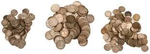 Lot of Silver Dimes & Quarters