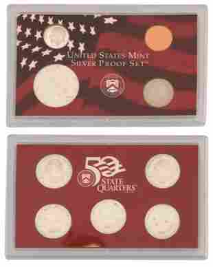 Lot of United States Mint Silver Proof Sets