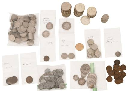 Lot of American Coins