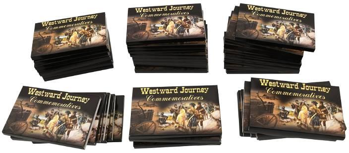 Lot of Westward Journey Commemorative Coins