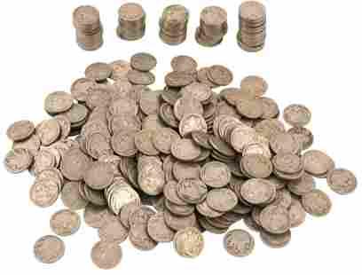 Lot of 400 Buffalo Nickels