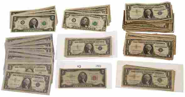Lot of American Paper Currency