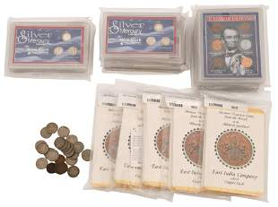 Lot of American & Foreign Coins