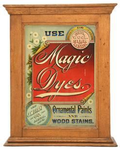 J.W. Brant Co. Magic Dyes Dye Cabinet