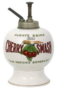 Fowler's Cherry Smash Syrup Dispenser