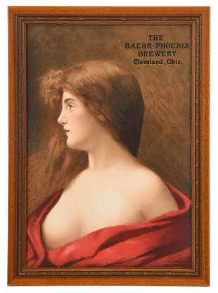 The Baehr-Phoenix Brewery Advertisement