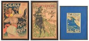 Group of Three French Posters