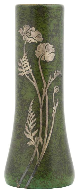 Heintz Sterling on Bronze Vase