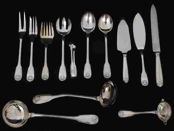 Christofle Silver Plated 135-Piece Flatware Set