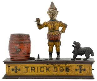 "Shepherd Hardware Co. ""Trick Dog"" Mechanical Bank"