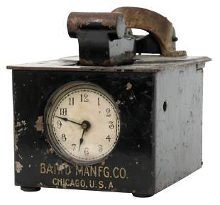 Baird Mfg. Co. Time Stamp Clock