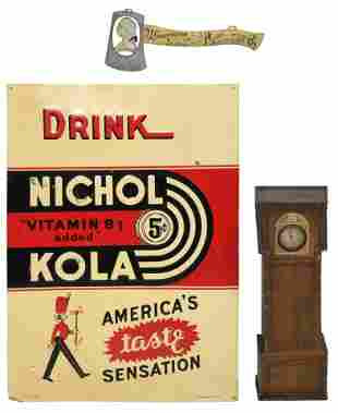 Group of Three Advertising Items