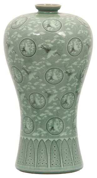Korean Meiping Porcelain Vase