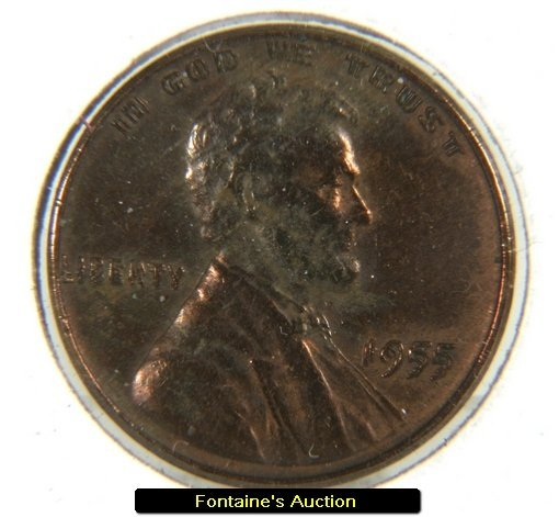 54: Rare 1955 P Double Die Wheat Penny