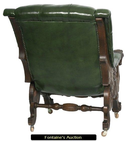 """160: Pr. Karpen Oak Griffin """"Sleepy Hollow"""" Chairs - 10"""