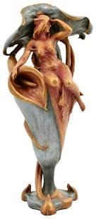 Riessner, Stellmacher & Kessel, Amphora, Figural Vase