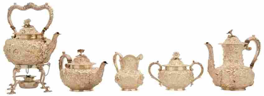 Jenkins & Jenkins Sterling Silver Tea & Coffee Service