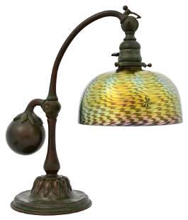 Tiffany Studios Counter-Balance Desk Lamp