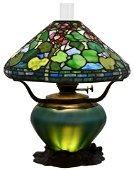 "Tiffany Studios ""Geranium"" Table Lamp"
