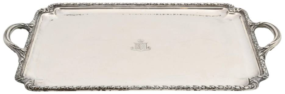 Cartier Sterling Silver Tray