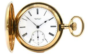 Patek Philippe for Tiffany & Co. 18K Gold Minute Repeat