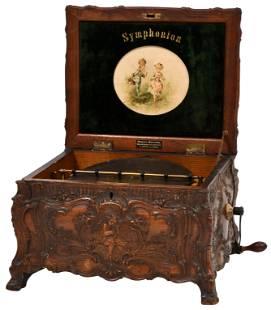 Schutz-Marke Symphonion Music Box