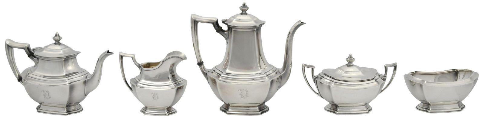 "Wallace ""Washington"" Tea & Coffee Service"