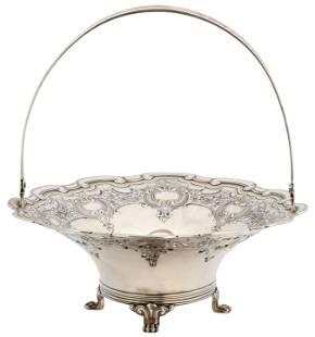 Tiffany & Co. Sterling Silver Basket
