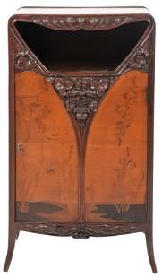 R.J. Horner & Co. Art Nouveau Music Cabinet