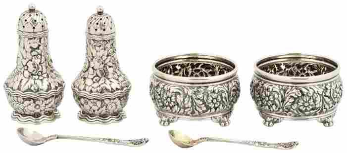 Tiffany & Co. Sterling Silver Pepper Shakers & Salt
