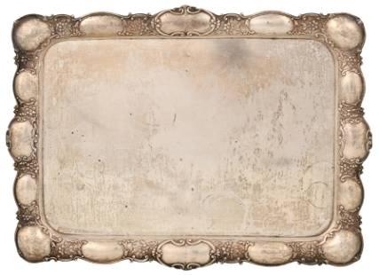 German 800 Silver Tray