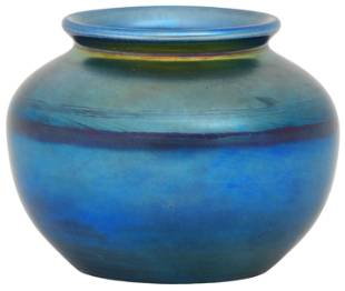 Tiffany Studios Favrile Glass Cabinet Vase