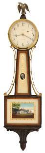 Waltham and Shreve, Crump & Low Banjo Clock