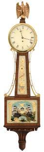 Waltham Clock Co. Banjo Clock